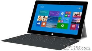 The new Surface 2 with Touch Cover, a $578 package meant to rival the iPad.