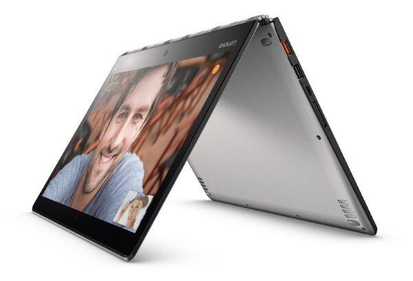 Lenovo Yoga 13 in tent position