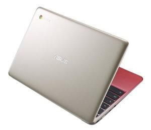 Asus C201PA - Gold & Red