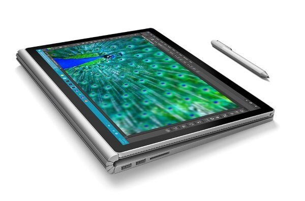 Microsoft Surface Book opened 360 degrees