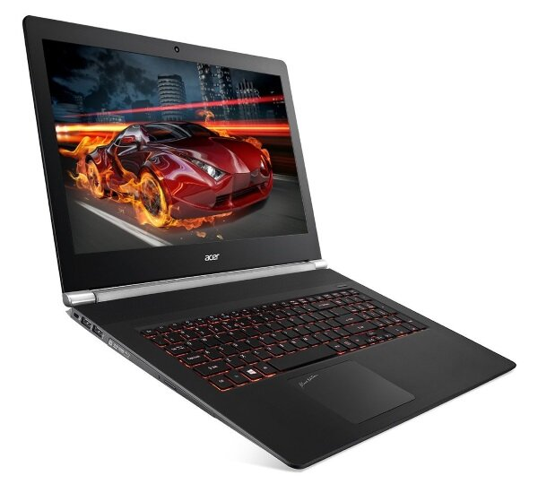 Acer V17 Nitro Black Edition with backlit keyboard