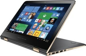 HP Spectre x360 13-inch Black and Gold